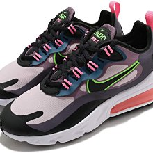=CodE= NIKE W AIR MAX 270 REACT 網布慢跑鞋(黑粉紫綠) CV8818-500 氣墊 女