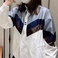 【妖妖代購】Celine 21新款藍白拼色經典凱旋門夾克 男女同款