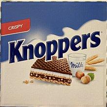 【佩佩的店】 COSTCO 好市多 Knoppers 可可牛奶威化餅 25公克 X 24入 奶素 產地:德國 新莊可面交