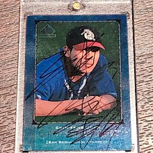 陳金鋒 ~ 台灣棒球首位美國MLB職棒大聯盟球員極稀少絕版1999年之前親筆簽名SP Top Prospects球員卡 ~ 如圖