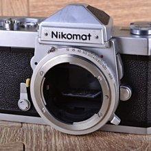 【台中品光攝影】Nikon Nikomat FTN Body 單機身 銀色 經典機械式底片機 平均測光 #33536J