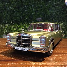 1/18 KengFai Mercedes-Benz Pullman Champaign KF0293【MGM】