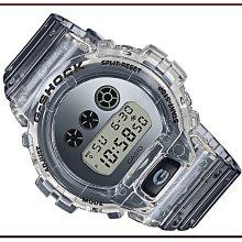 *夢幻精品屋*CASIO卡西歐 G-SHOCK 新款透明款 防水200米 DW-6900SK-1