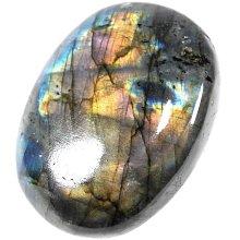 【寶貝多】♞a1136 石來運轉~拉長石寶石原石13
