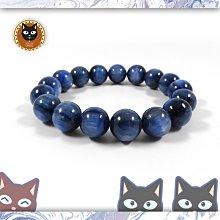 ☼§太陽貓水晶§☼【爵品收藏】獨特閃耀 貓眼 藍晶石 Kyanite