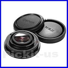 Lens Turbo減焦增光調光圈CANON FD鏡頭轉Sony NEX E卡口轉接環A7 A7R A7S MARK 2