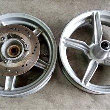 達成拍賣 四代 勁戰 BWSR 新勁戰 1-4代 原廠輪框 輪圈 鋁合金輪圈 鋁圈 輪胎 鋼圈 五爪圈 碟盤 很新