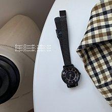 YOYO日韓代購~三四集市店 小眾品牌時尚正韓網紅復古學院風黑色簡約氣質手錶女