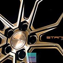 超鑫鋁圈 Stance SF10 19吋旋壓鋁圈 古銅金 5孔108 5孔112 5孔114.3 輕量化
