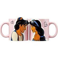 4165本通 阿拉丁 日本製 陶瓷對杯組(立體浮雕)4942423238041 下標前請詢問