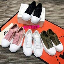 ♥空姐精品♥新品 M*Q 款 絲綢羊皮真皮休閒鞋 小白鞋 運動鞋