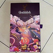 ❒倉庫大戰❒【 格蘭菲迪18年單一麥芽威士忌 / 出售空盒 / 2021年包裝 】9成新