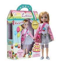 洋娃娃(生日禮物)女孩7英寸娃娃金色頭髮和藍色眼睛風格