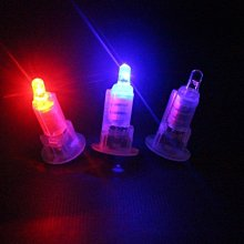 七彩閃燈LED燈泡組 燈籠照明用(內附電池)/一個入(定20) 燈籠LED燈 蠟燭高亮燈珠-CF137142-星