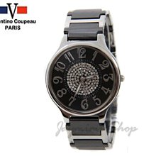 【JAYMIMI傑米】Valentino范倫鐵諾古柏-高精密陶瓷錶時尚圓心鑽面板 切割玻璃 特價950 對錶