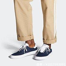ADIDAS NEO 3MC 經典 復古 耐磨 低幫 繫帶 深藍 休閒 運動 帆布 滑板鞋 EE6091 男女鞋