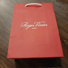現貨 Roger Vivier 專櫃精品紙袋 禮物袋 環保 經典紅色 全新品  尺寸36*26*12CM 狀況良好如照片
