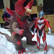 陸版超人力霸王捷德20公分大軟膠怪獸Ultraman Ultra Monster Series骷髏哥摩拉無吊卡
