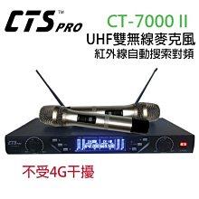 「小巫的店」實體店面*(CT-7000 II)第II代UHF雙頻無線麥克風.抗4G干擾.演講歌唱最佳選擇↘8900元