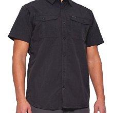 Columbia 短袖襯衫【L】【XL】戶外 登山 Omni-Shade UPF 50 黑灰 XM0829 全新 現貨