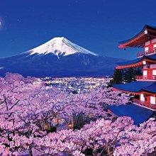 進口 1000片世界風景拼圖 51-272香波爾城堡 51-274奎爾公園 51-275千島櫻花 51-276富士山