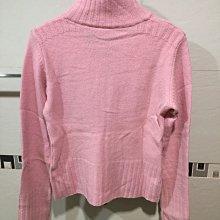 Polo Jeans Co. 粉紅色毛衣小外套。S碼