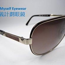 信義計劃 ALVIERO MARTINI MK0210 地圖太陽眼鏡 當季皮革鏡架雷朋 aviator 款