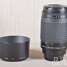 【品光數位】Nikon AF 70-300mm F4-5.6 G 望遠 #108397T