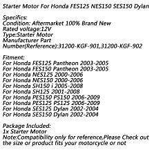《極限超快感!!》Honda FES125 Pantheon 2003-2005 NES125 SH 125/150 啟動馬達
