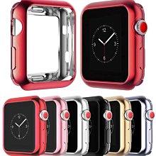淘趣-適用蘋果手錶保護套Series4電鍍殼iwatch3/2/5代tpu邊框軟殼44mm0
