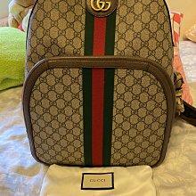 二手Gucci Ophidia GG PVC 後背包