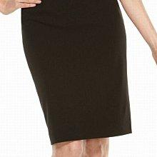 全新有吊牌美國真品Calvin Klein 黑色窄裙 及膝裙 6號