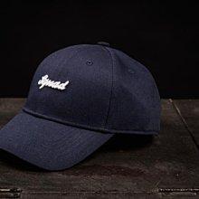 (MARVELOUS) SQUAD 17A/W SQUAD LOGO Sketch HAT 草寫電繡老帽 深藍