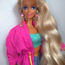 美泰兒1993太陽之珠芭比娃娃 老芭比早期芭比 骨董芭比 古董芭比 懷舊芭比 復古芭比 絕版芭比 芭比娃娃 二手芭比