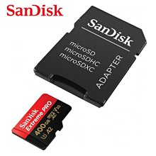 SANDISK Extreme PRO 400G A2 microSDXC U3 記憶卡 (SD-SQXCZ-400G)
