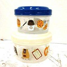 食器 ◎ 日本 米津祐介 保鮮盒 收納盒 便當盒 2入 插畫 日本製