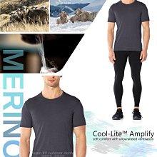 RV城市【紐西蘭 Icebreaker】送》Amplify COOL-LITE男款涼爽羊毛圓領短袖排汗T恤_104581