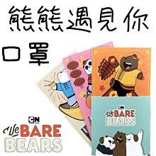 正品授權 [現貨 開發票] 熊熊遇見你 平面口罩 藤花科技 圖案口罩 流行口罩 工業口罩