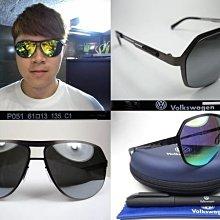 【信義計劃】總代理公司貨Volkswagen福斯太陽眼鏡 水銀鏡面超越維多利亞貝克漢Victoria Beckham