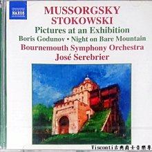 ©【NAXOS預購】穆索斯基:展覽會之畫-史托考夫斯改編管弦樂版(José Serebrier,波茅斯交響樂團)