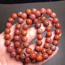 天然南紅瑪瑙手鍊8.5mm 南紅瑪瑙手鏈手珠手串手環 DIY飾品配件《舒唯水晶》
