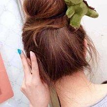 小靚妹の舖~可愛毛絨立體恐龍 髮帶 髮圈