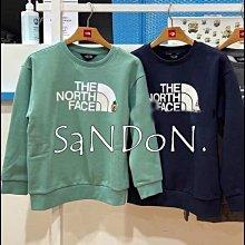 SaNDoN x『THE NORTFACE』可愛小布標設計毛圈小孩兒童大學TEE SLY 210924