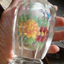 2007上海標品鼻煙壺二手八分新 size H 17.5cm X L5.6CM X W 5.5CM / 640.6GMS