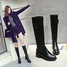 DANDT 秋冬新款復古中跟騎士長靴(NOV 24 ALI) 同風格請在賣場搜ALI或歐美鞋款