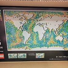 [全新公司貨] LEGO 31203 世界地圖 World Map Art Series  樂高