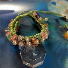 【開運如意閣】J28 天然珍珠手鍊+天然水晶-圓滿如意 花式手鍊-可調整長度大小-適合各手圍 手圍最大約26公分(盒2)