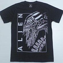【Mr.17】 ALIEN 異形 經典科幻恐怖電影 電影T恤 短袖黑色T-SHIRT(KR027)