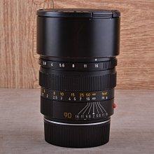 【品光攝影】Leica 徕卡 Summicron-M 90mm F2 III E55 黑色 加製 大頭九 #54165