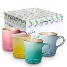 Le Creuset 350ml 4色一組馬克杯 spring Colours 特賣 附精美禮盒